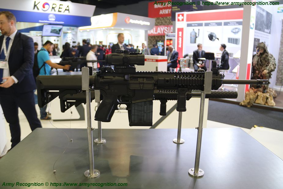 Caraca from UAE has signed MoU to manufacture CAR 817AR assault rifle in India 925 001