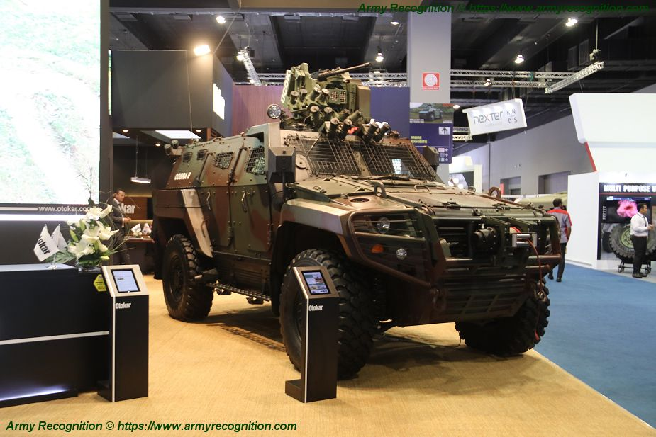 Otokar from Turkey promotes its Cobra II 4x4 armored at DSA 2018 in Malaysia 925 001