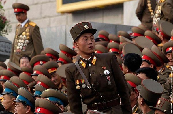 the north korean army. North Korea Korean Army ranks