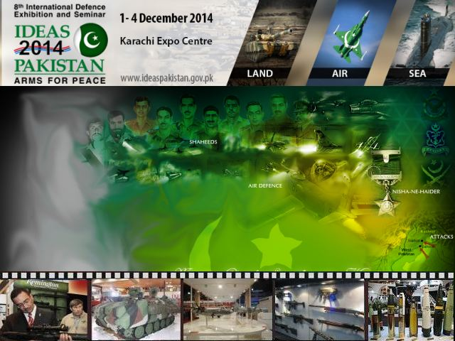 IDEAS 2014 pictures Web TV Television video photos images International Defense Exhibition Conference Seminar Karachi Pakistan army military industry technology
