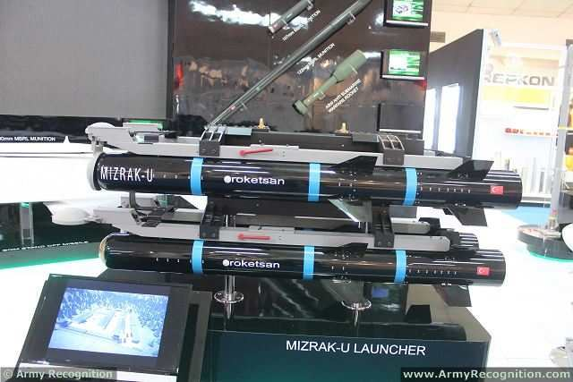 The Turkish Company Roketsan, one of the main leader in the world for the design and production of rockets and missiles showcases its latest range of products at IDEAS 2014, the International Defense Exhibition in Pakistan.
