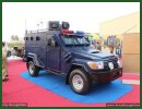 Integrally designed and manufactured by Pakistani company Heavy Industry Taxila since 2000, the Mohafiz light armoured vehicle in now showcased in its third evolution at IDEAS 2014 exhibition, which is held from 1-4 December in Karachi, Pakistan. This new upgrade features i.a. an body protection tested to meet B7 standards.