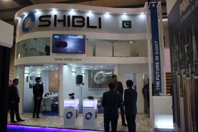 IDEAS 2016 the Pakistani company Shibli is showcasing the Tarsier 001