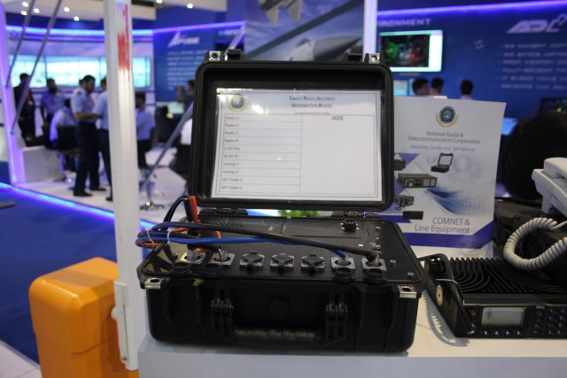 Pakistani NRTC showcased its secure Smart Radio Gateway  SRG at IDEAS 2016