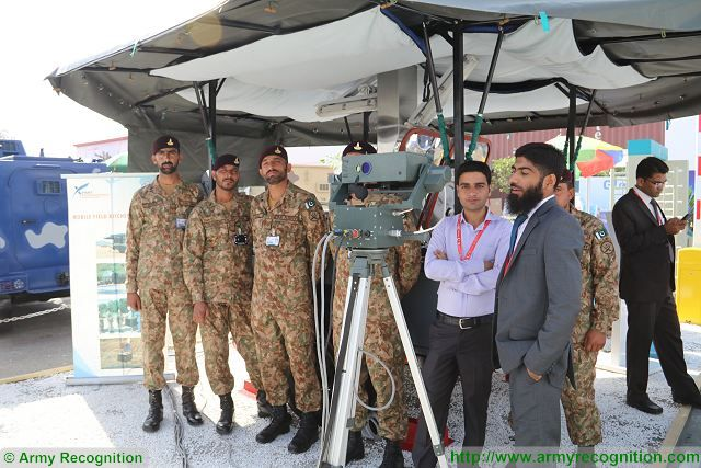 Pakistani army air defense forces use now an upgrade version of the Chinese-made twin-barreled 37mm anti-aircraft guns which can work in fully autonomous mode connected to laser aiming and trajectory ballistic computer.
