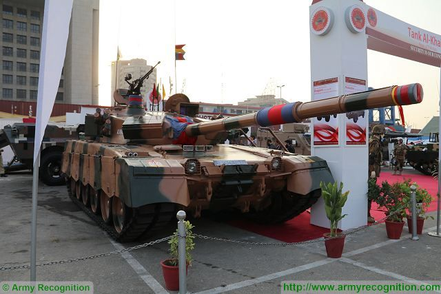 Al-Khalid 1 main battle tank Heavy Industries Taxila IDEAS 2016 Defense Exhibition Karachi Pakistan 640 001