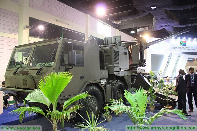 T5-52 155mm truck-mounted self-propelled howitzer IDEAS 2016 Karachi Pakistan 640 001
