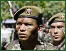Philippines Philippine Army ranks military combat field uniforms dress grades uniformes combat armée Philippines Philippines