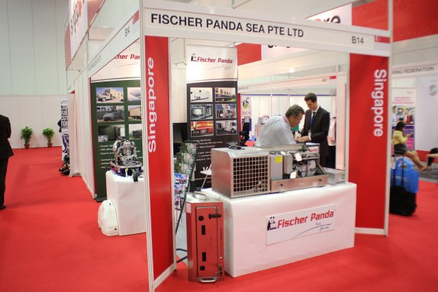 Fischer Panda designed a new generation of innovative generator at APHS 640001