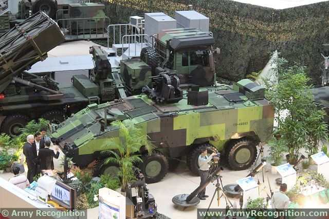 The CM-32 Yunpao is the future armoured vehicle personnel carrier of the Taiwanese army.