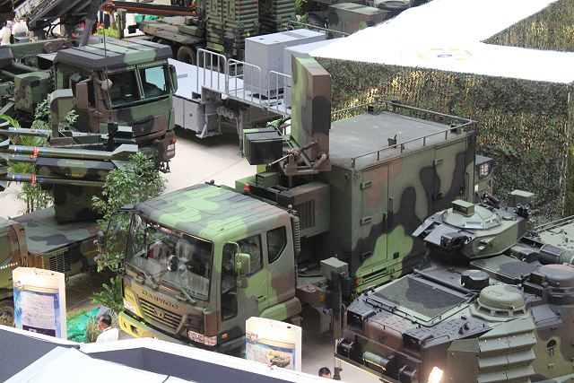 The Taiwanese Army shows its new Bistatic Radar - Passive Receiver system for coast surveillance at TADTE 2013, Taipei Aerospace and Defense Technology Exhibition in Taiwan. The system is designed for forward deployment to provide wide-angle coverage to control the national airspace.