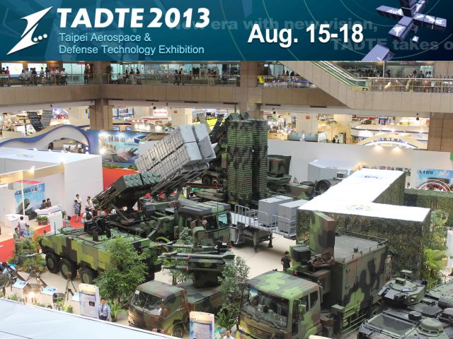 TADTE 2013 pictures photos images video Taipei Defense Aerospace Technology Exhibition Taiwan Taiwanese army military industry
