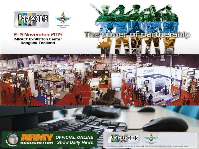 Defense and Security 2015 organizers appointed Army Recognition as Official Online Show Daily News 640 001