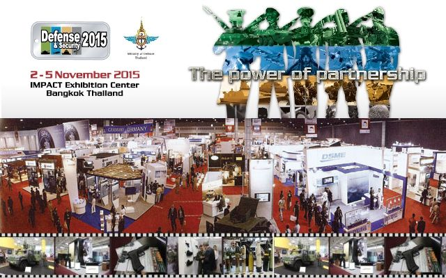 DEFENSE & SECURITY 2015 pictures photos images video Web TV Television gallery Tri-Service Asian Defense Security Exhibition Bangkok Thailand Conference Networking Bangkok