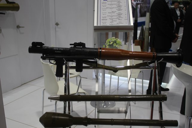 Bazalt is exhibiting for the first time its new antitank grenade launcher at Defense and Security 640 001