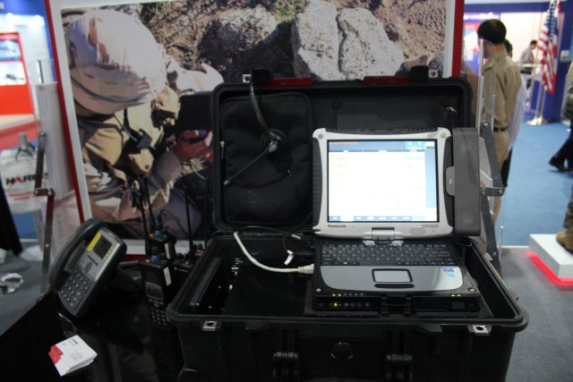 Communications On The Move COTM is the latest interoperable communications designed by Harris 640 001