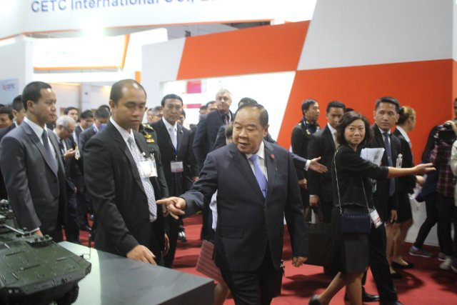 Defense and Security 2015 in Bangkok is becoming a great success 640 001