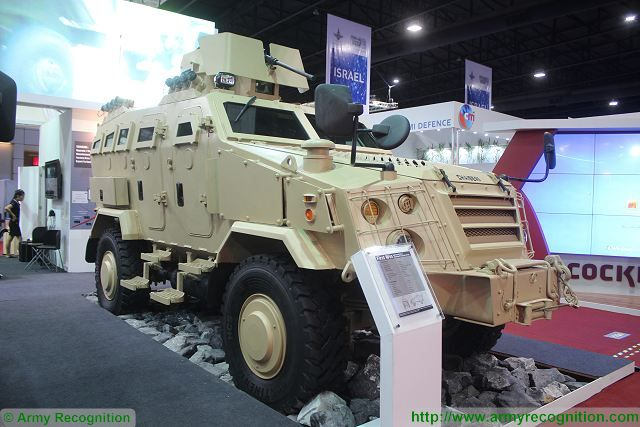 First Win 4x4 APC variant Chaiseri Defense and Security 2015 exhibition Thailand Bangkok 640 001