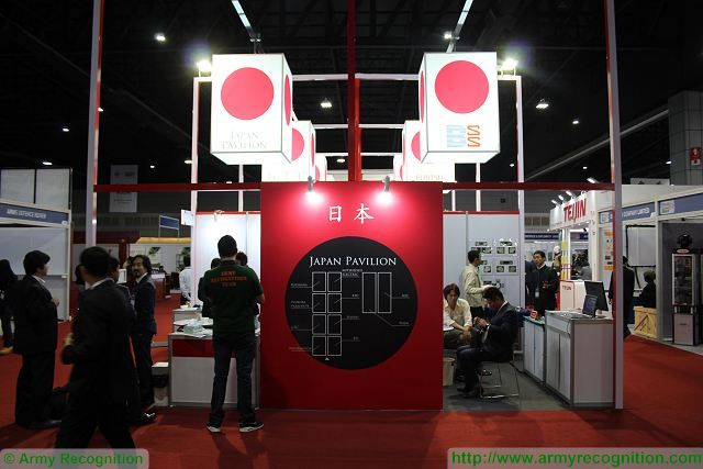 Japanese companies showcase latest defense equipment and technologies in Thailand trade show 640 001