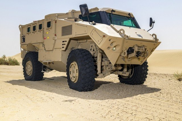 NIMR has expanded its range of vehicles with a new multi role protected vehicle 640 001
