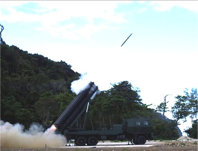 Thai Defence Technology Institute has tested two new types of 122mm rocket launcher DTI-1 and DTI-2 640 001