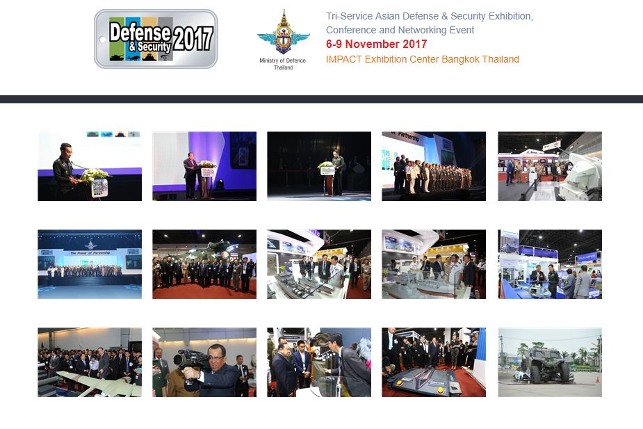Defense and Security 2017 defense exhibition Thailand Bangkok pictures gallery 925 001