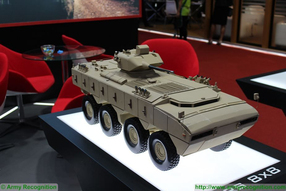 PARS 8x8 armoured vehicle FNSS Turkey Defense and Security 2017 Exhibition Thailand Bangkok 925 001
