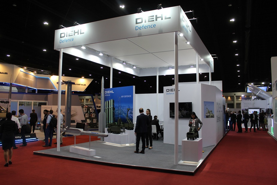 Defense Security Thailand 2019 Diehl showcases its wide range of defence systems