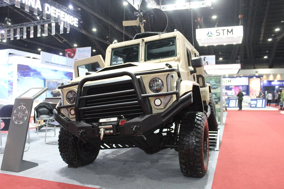 Defense Security Thailand 2019 REVA exhibits new armoured vehicles LAV FAV 925 001