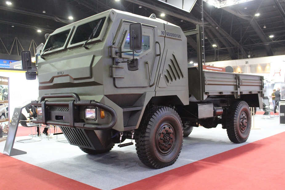 Defense Security Thailand 2019 REVA exhibits new armoured vehicles LAV FAV 925 002