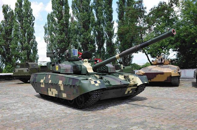 Ukrspetsexport, Ukraine's state arms exporter presents to Thai army officials the first main battle tank T-84 Oplot which will be delivered to the Army of Thailand. According to the contract by the end of 2014, Ukraine should submit 49 such machines to Thailand.