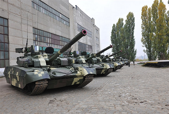 Malyshev Plant, part of the Ukroboronprom State Concern, has presented the first five Oplot main battle tanks to the customer - the Kingdom of Thailand. The first batch of Ukrainian-made T-84 Oplot main battle tanks was handed over to the Royal Thai Army by the Kharkiv Malyshev Plant on October 15, 2013.
