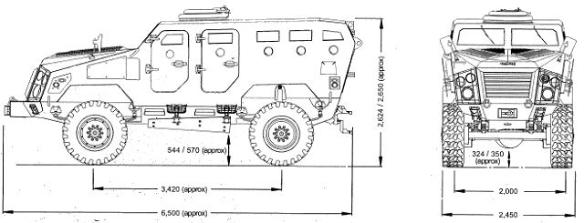 First Win 4x4 multipurpose armoured vehicle technical data sheet specifications pictures video information description intelligence identification photos images Chaiseri Thailand Thai Military army defence industry military technology equipment