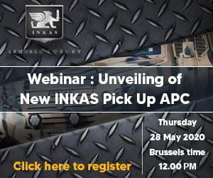 Subscribe Free Webinar INKAS Vehicles LLC from United Arab Emirates to unveil its new Pickup design 4x4 APC Armored Personnel Carrier Vehicle