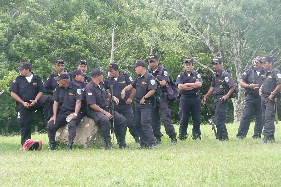 Costa Rica Police Army Ranks Military Combat Field