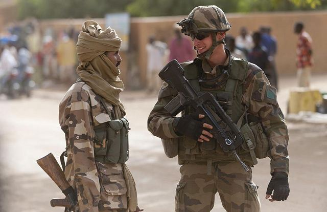 more than 1 800 chadian soldiers with french troops in kidal to secure the city 0502132