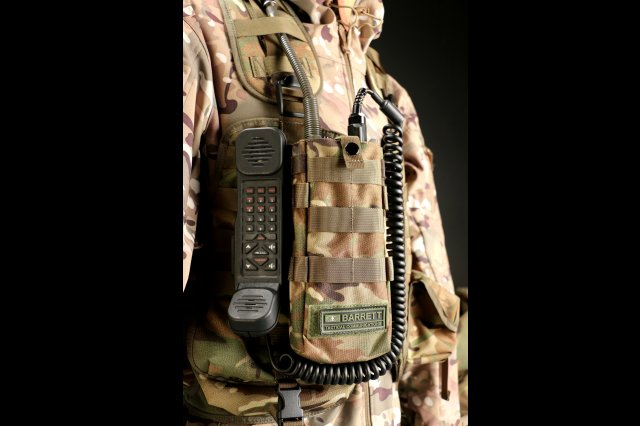 Barrett Communications PRC 2080 Multicam Webbing Pouch 640 001