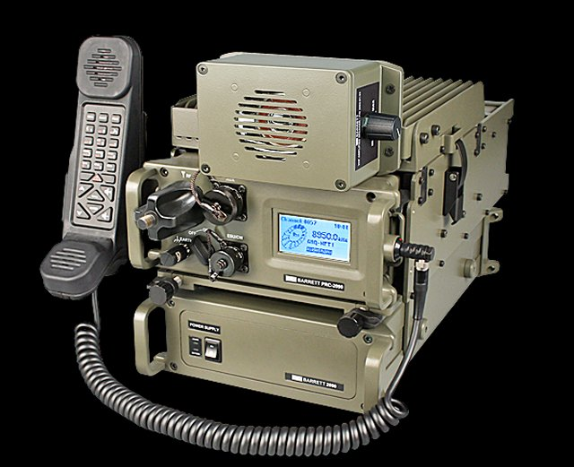 Barrett Tactical Communications PRC-2090 Tactical HF radio system