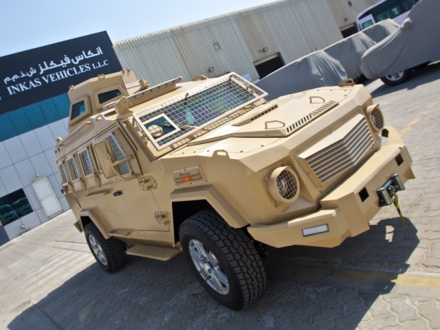 Inkas Vehicles 200 APC 640