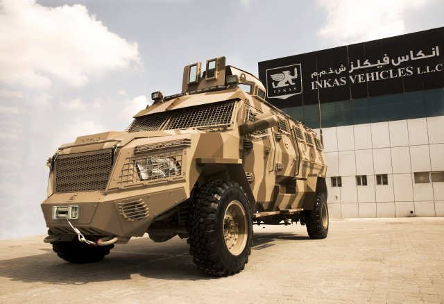 Inkas Vehicles TitanD APC 640 002