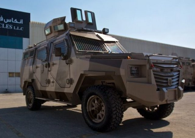 Inkas Vehicles TitanS APC 640