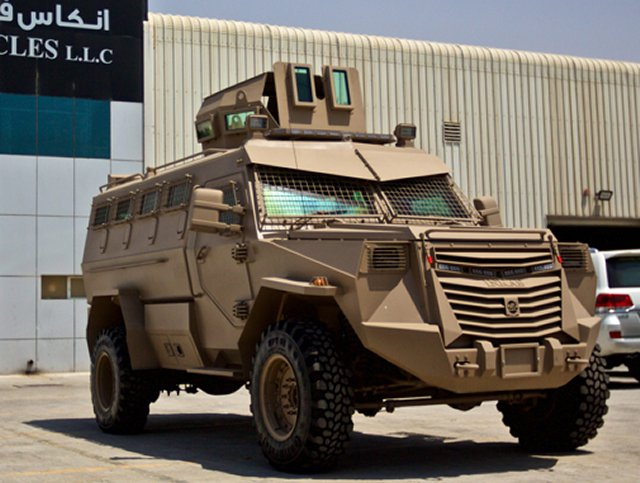 Inkas Vehicles TitanV APC 640