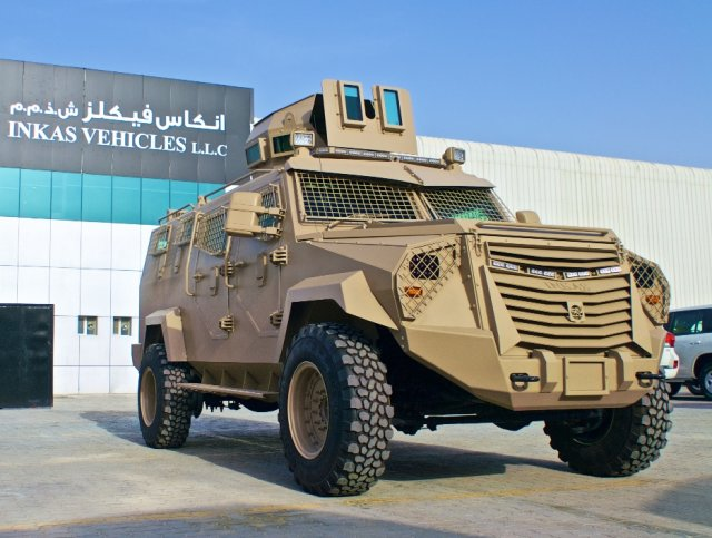 Inkas Vehicles Titan APC 640