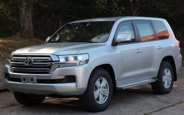 Protected SUVs Jankel Hot-Formed Toyota LC200