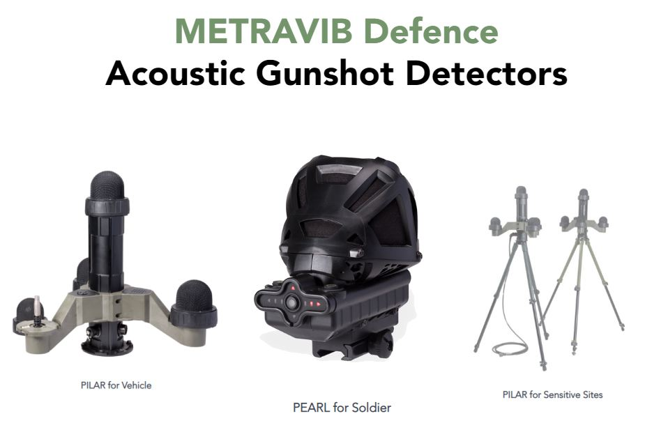 Metravib Acoem detection localization solutions defence civil sectors France French defence industry military technology 925 001