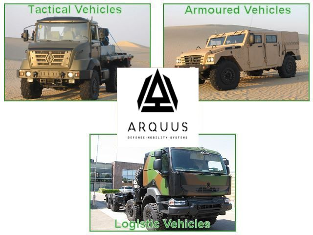 ARQUUS tactical armored military army vehicle 640 001