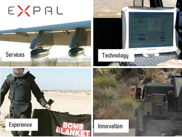 Expal defence security military army products equipment manufacturer designer developer integrator spain Spanish defence industry military technology