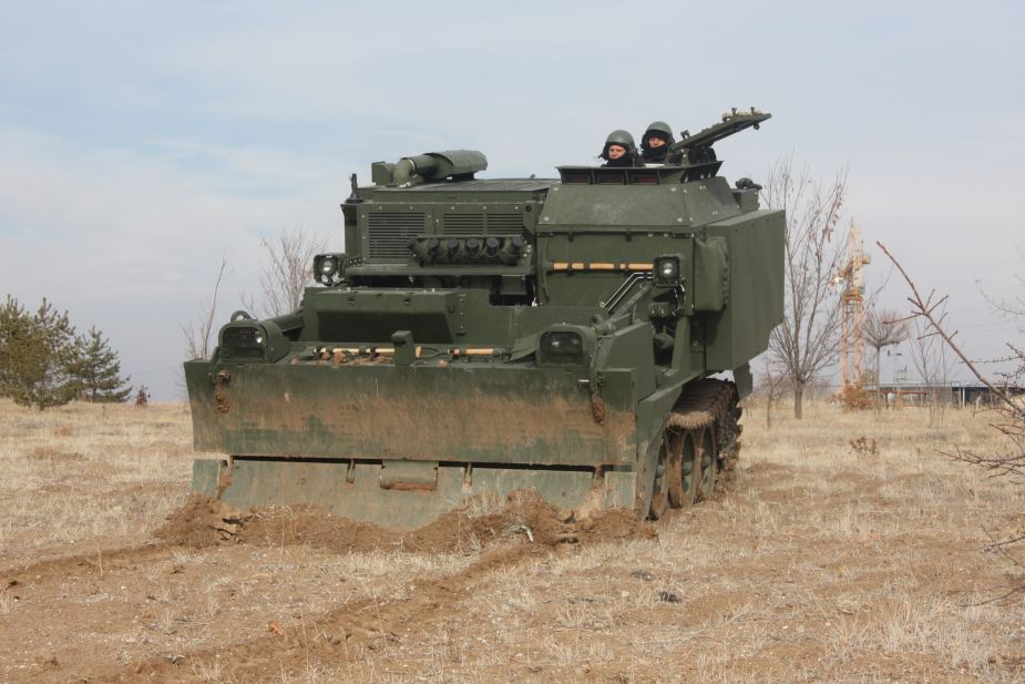 FNSS AACE Amphibious Armored combat Earthmover turkey company 925 001