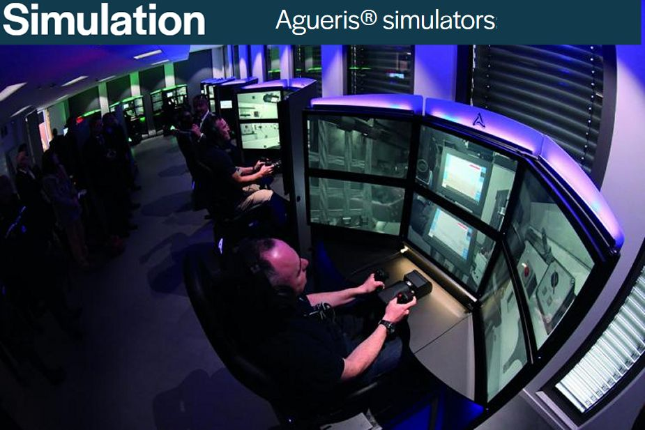John Cockerill turret weapon stations manufacturer Belgium Simulation Agueris simulators 925 001