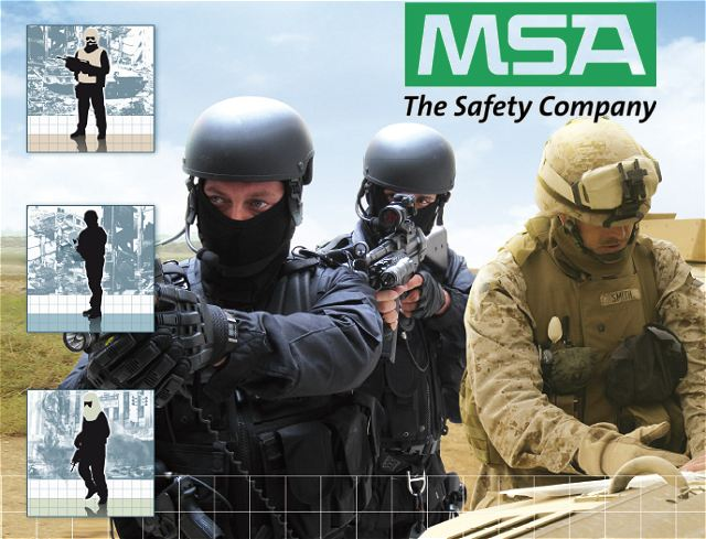 Msa Gallet Body Armor Protection Ballistic Protection